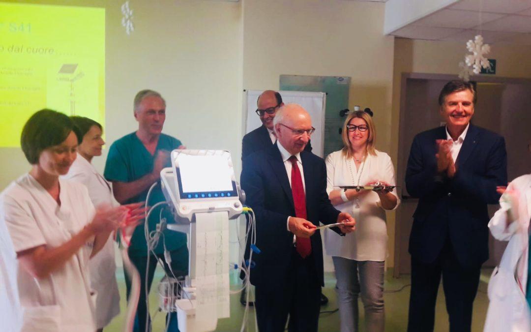 Un nuovo elettrocardiografo fetale donato al reparto Materno infantile dell'Ospedale Cardinal Massaia di Asti